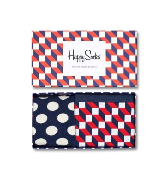 Combo box damski Happy Socks Hipster XFIO62-6000
