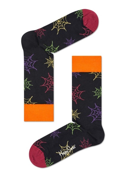 Giftbox (3-pak) skarpetki Happy Socks Halloween XHAL08-9001