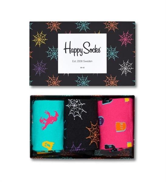 Giftbox (3-pak) skarpetki Happy Socks XHAL08-9000