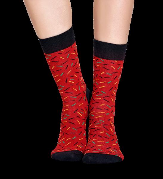 Singing XMAS Giftbox (3-pak) skarpetki Happy Socks XMAS08-7001