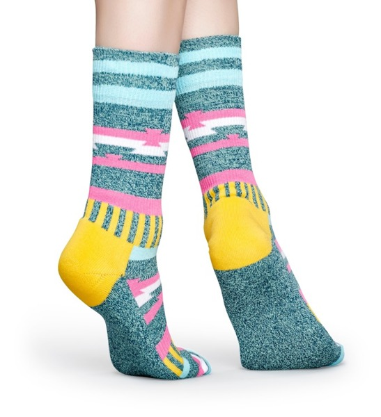 Skarpetki ATHLETIC Happy Socks ATINS27-7000