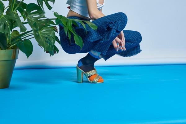 Skarpetki HYSTERIA Liza Sparkle Ankle Sock (SISLIZ12-6001)